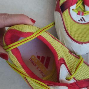 Adidas παπούτσια στίβου με καρφιά