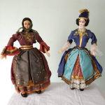 Κούκλες λαϊκής  τέχνης,δεκαετίας του 60.