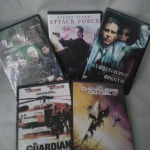 Πέντε Ταινίες γεμάτες δράση
