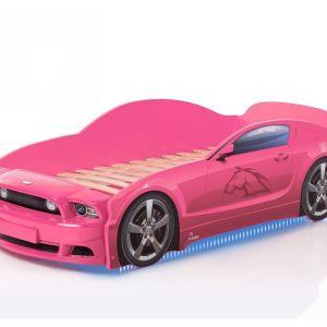 Παιδικά 3D κρεβάτια – αυτοκίνητο με κάτω φωτισμός + φωτιζόμενοι προβολείς