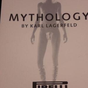 ΗΜΕΡΟΛΟΓΙΟ PIRELLI  MYTHOLOGY  2011 BY KARL LAGERFELD