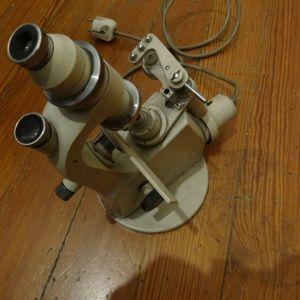μικροσκόπιο ή συναφής συσκευή μικροβιολογικού ή οπτικού εργαστηρίου