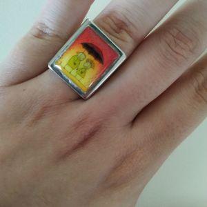 Χειροποιητο δαχτυλιδι