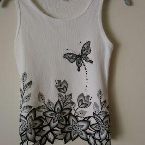 μπλουζάκι αμάνικο  AMY BYER size  12-14 ετών μεταχειρισμένο