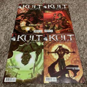 Kult #1-#4 dark horse comics