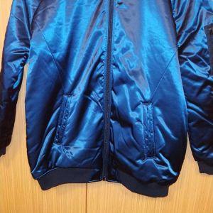bershka bomber jacket large