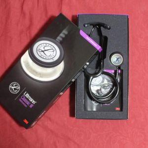 Littmann 5870 Classic III Monitoring Stethoscope - Black With Rainbow Finish 3m.