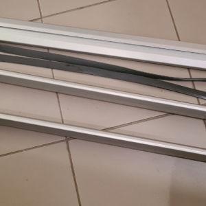 Menabo Lince 135cm Μπάρες οροφής αυτοκινήτου αλουμινίου.