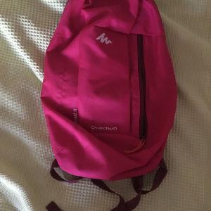 μικρό ροζ backpack