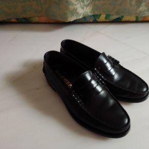 Dockstep Μαύρο Δερμάτινο Παπούτσι