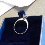 Μονοπετρο δαχτυλίδι