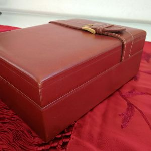 ROLEX αυθεντικό κουτί ξύλο και δέρμα. Vintage