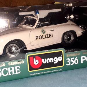 μεγαλο 1/18 Bburago Porsche Polizei μοντελο αυτοκινητου