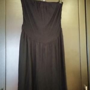 Φόρεμα Medium στράπλες BSB ελαστικό