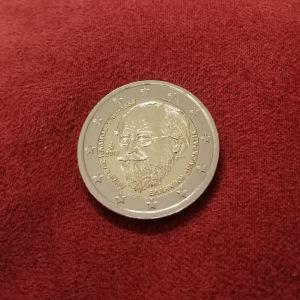 2 euro 150 χρόνια από το θάνατο του Ανδρέα Κάλβου!!