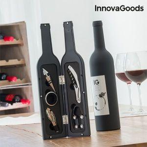 Θήκη Κρασιού Μπουκάλι InnovaGoods (5 Τεμάχια)