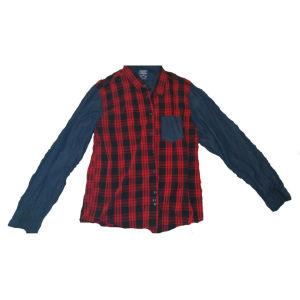 κόκκινο ριγέ πουκάμισο