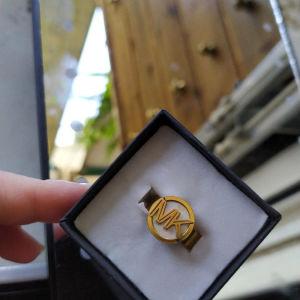 Δαχτυλίδι No16 Michael Kors(MK)-Ατσάλινο