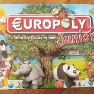 MONOPOLY EUROPOLY JUNIOR
