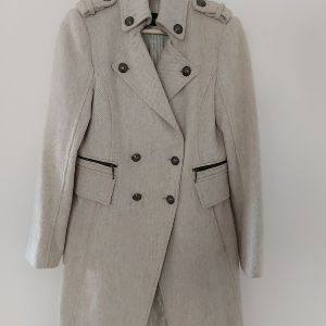 Zara μάλλινο παλτό Μ