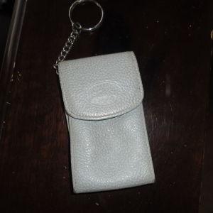 Longchamp Δερμάτινη κλειδοθήκη