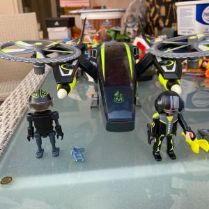 Playmobil top agent k future planet