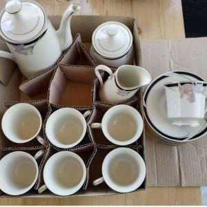 Φλυτζάνια καφέ ή τσαγιού σέτ αχρησιμοποίητα, αυτά που βλέπετε στην φωτογραφία σαν τεμάχια