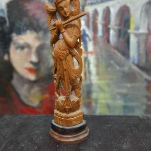 Αγαλματακι ξυλινο 25 εκατοστων