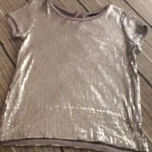 Μπλούζα με παγιετες small medium