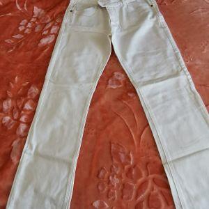 γυναικειο τζιν λευκό παντελόνι