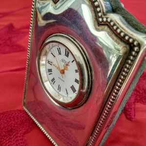 Ασημένιο αγγλικό ρολόι vintage