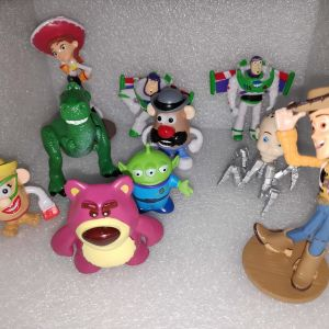 10 Φιγουρες - Ηρωες Toy Story - Ιστορια Των Παιχνιδιων
