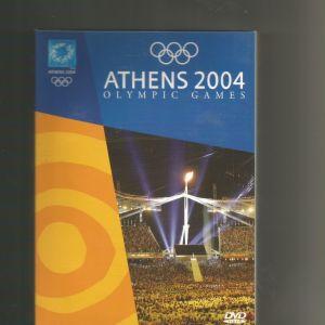 ATHENS 2004 - 4 DVD ORIGINAL