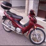 Μηχανάκι (Παπί) 110cc Με μίζα.