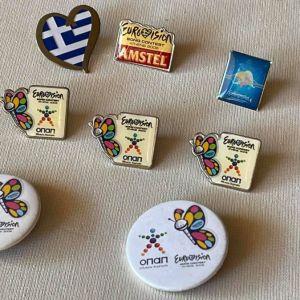 EUROVISION ΑΘΗΝΑ 2006 - ΣΕΤ ΣΥΛΛΕΚΤΙΚΑ PIN και κονκάρδες.