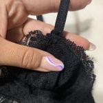Pull & Bear black lace bralet