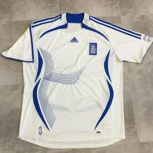 Φανέλα - Εμφάνιση Adidas Εθνικής Ελλάδος Ποδοσφαίρου XL 2006-2007