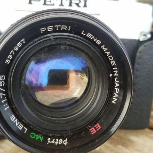 Φωτογραφική μηχανή Petri versatile SLR με φιλμ