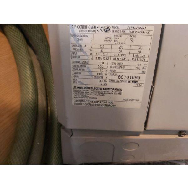 klimatistiko Mitsubishi R22, se aristi katastasi, 300 evro.