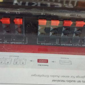 BELKIN 4 way speaker switch box