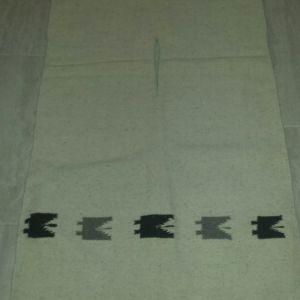 Μεξικάνικο χειροποίητο πόντσο από μαλλί λάμα