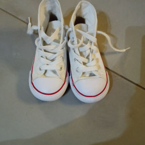 All star παπουτσι λευκο