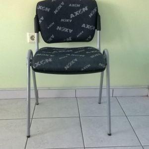 Καρέκλες φροντιστηρίου μεταλλικές με ύφασμα (8 καρέκλες)