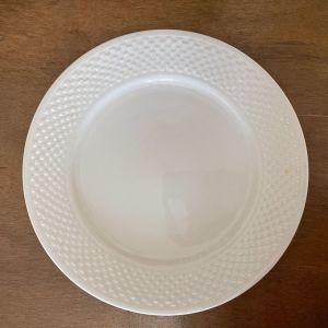 VISCO Collection. Βιντάζ Μεγαλο Πιάτο Σερβιρίσματος Πορσελάνη.  Μήκος 27 εκ