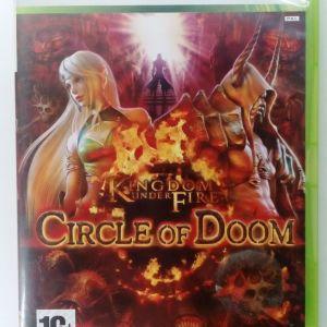 KINGDOM UNDER FIRE CIRCLE OF DOOM XBOX 360 EUROPEAN PAL USED GOOD CONDITION
