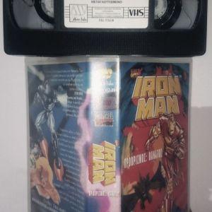 Iron man: The animation series Vol 1-2-3 (vhs)