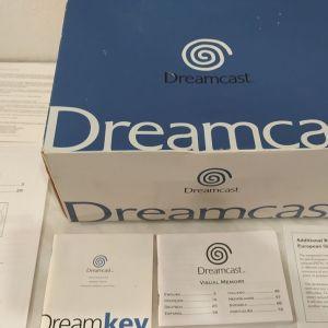 Sega Dreamcast ΣΤΟ ΚΟΥΤΙ ΤΟΥ, κομπλε, αριστη κατασταση, για συλλεκτη