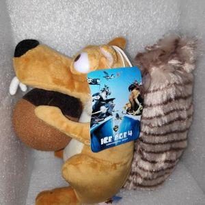 Scrat Ice Age 4 Λουτρινο Κουκλακι