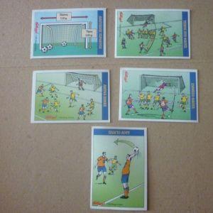 5 ποδοσφαιρικά χαρτάκια από Kellogg's