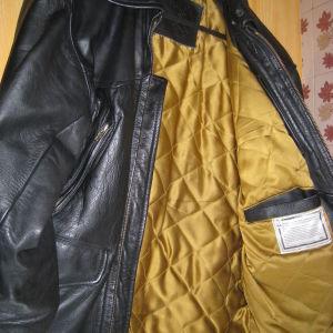 Δερμάτινο μπουφάν (γνήσιο δέρμα).